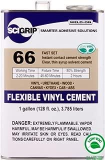 SCIGRIP Weld-On #66 Adhesive, Gallon