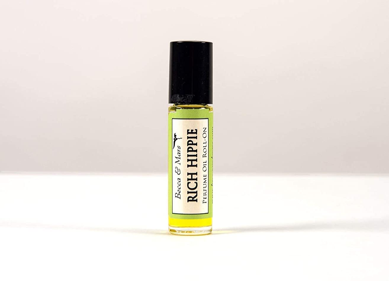 Rich Hippie Natural Perfume Roll On, Sandalwood and Patchouli, Perfume Oil