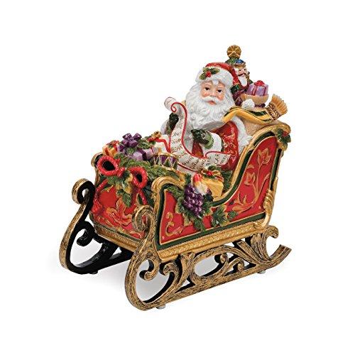 Regal Holiday Collection Weihnachtsmann im Schlitten