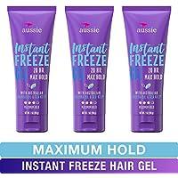 6 Count Aussie Instant Freeze Sculpting Maximum Hold Hair Gel