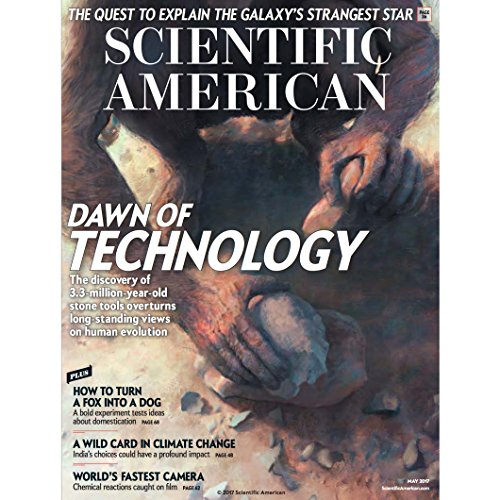 Scientific American, May 2017 cover art