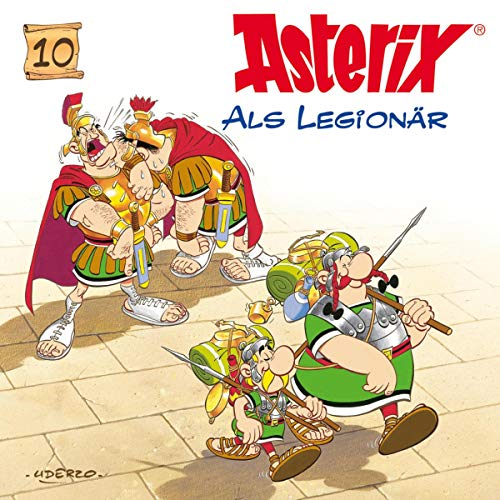 Asterix als Legionär Titelbild