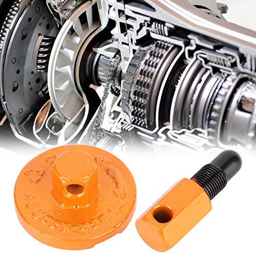 Embrague de tope de pistón, metal fácil de usar que evita daños, herramienta de extracción de embrague fuerte, piezas de motosierra, motosierra para máquina de hierba