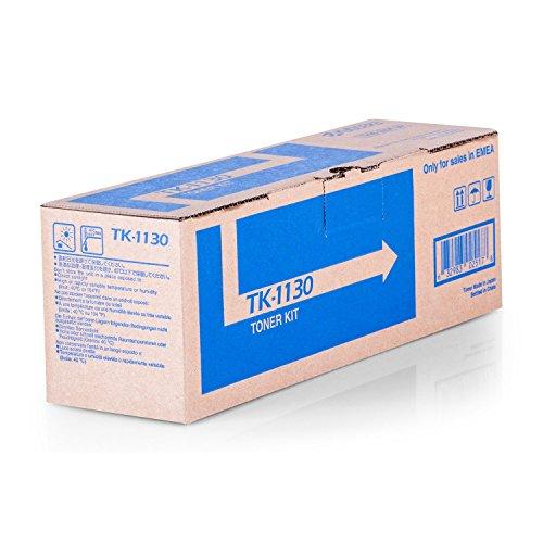 Original Kyocera 1T02MJ0NL0 / TK-1130, für FS-1030 MFP DP Premium Drucker-Kartusche, Schwarz, 3000 Seiten