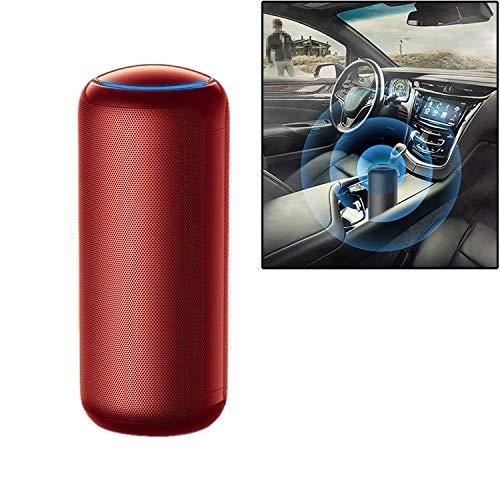 Auto de la Copa del purificador del aire auto de la Copa al humo de quitar y smog PM2.5 Alta calidad (Color : Red)