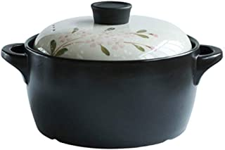 SHYOD Gas High Temperature Soup Pot for Porridge Warm/Cold Upto Insulated Casserole with Stainless Steel Insert