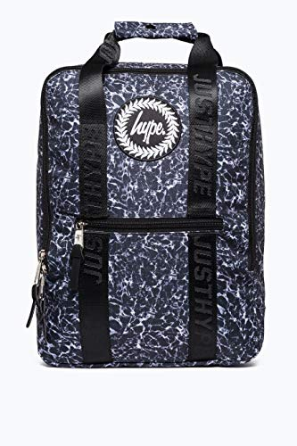 HYPE - Mono Pool Boxy Backpack, Mochilas Unisex adulto, Multicolor (Black/White), 30x41x15 cm (W x H L)