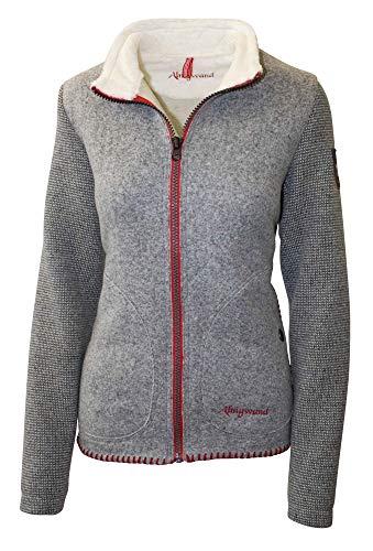 Almgwand W Gernkogel Grau, Damen Freizeitjacke, Größe 48 - Farbe Grau- Hellgrau