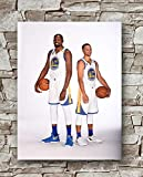 Zero.o Poster Kevin Durant Stephen Curry Golden State