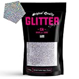 TWISTED ENVY Silver Holographic Ultra Fine Holographic Glitter 100g / 3.5oz Premium Glitter