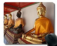 パーソナライズされたマウスパッド、毎日が新しい日、仏教のマウスパッド