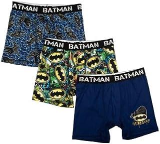 f33584227197 Underwear 3pk Boys Novelty Boxer Briefs Paw Sonic Star Wars Spidey Mario  (Batman, 8