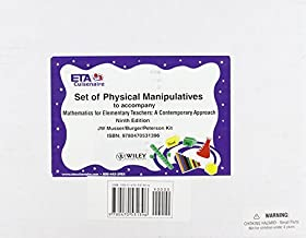 Physical Manipulatives to accompany Mathematics for Elementary Teachers: A Contemporary Approach by Musser Gary L. Peterson Blake E. Burger William F. (2010-12-28) Paperback