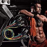 EMG 11 Unids/Set Cuerda de tracción Expansor de Goma Bandas de Resistencia de látex Ejercicio de Entrenamiento Tubos de Yoga Bandas elásticas Fitness Body Workout, 1 Juego