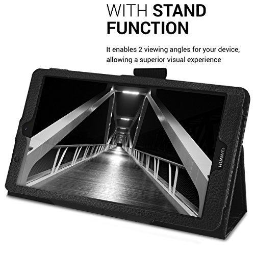 kwmobile Huawei MediaPad T3 7.0 Hülle - Tablet Cover Case Schutzhülle für Huawei MediaPad T3 7.0 mit Ständer - 4