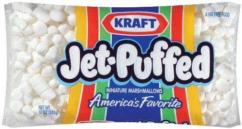 Jet Puffed Mini Marshmallows 10 Ounce Pack of 16