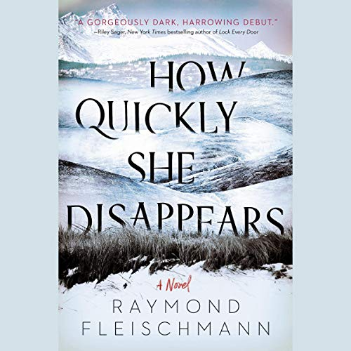 How Quickly She Disappears audiobook cover art