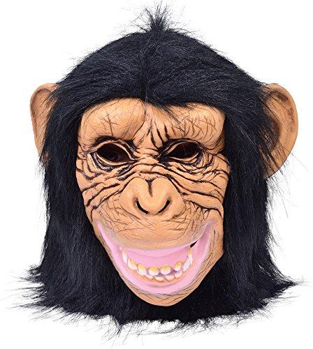 Bristol Novelty BM515 Schimpanse Maske