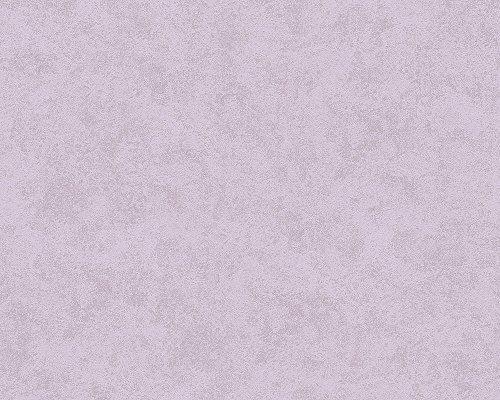 A.S. Création Vliestapete Memory Tapete Uni 10,05 m x 0,53 m lila Made in Germany 116062 1160-62