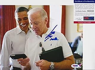 Joe Biden Vice President Signed Autograph 8x10 Photo PSA/DNA COA #2