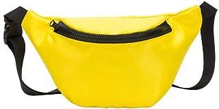 Wultia - Fashion Children's Bag Waist Bag Chest Bag Coin Purse Snack Pack Women New Hight Quality Women Bolsa Feminina #M09 Yellow