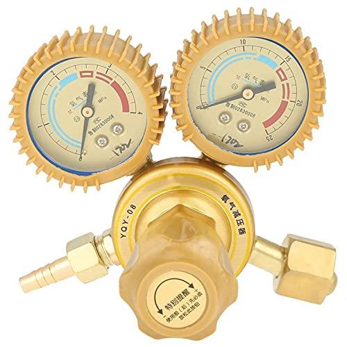 Regulador de presión de aire, válvula reductora de presión, 1 pieza de válvula reguladora de presión de gas de oxígeno, calibre G5/8, rosca para cortar, soldar, soldador