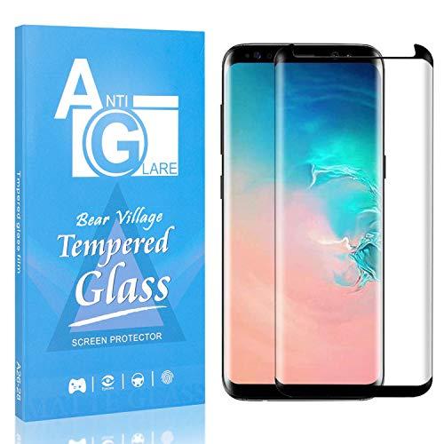 Displayschutzfolie Kompatibel mit Galaxy S8, Bear Village Anti Kratzen Schutzfolie aus Gehärtetem Glas für Samsung Galaxy S8, 99% Transparenz, 9H Härte, 1 Stück