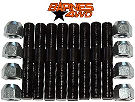 Barnes 4WD B4WK0112-5//8 X 5//8 ECONOMY HEAT TREATED HEIM JOINT FOUR LINK KIT FOR 3//4 INCH ID TUBE