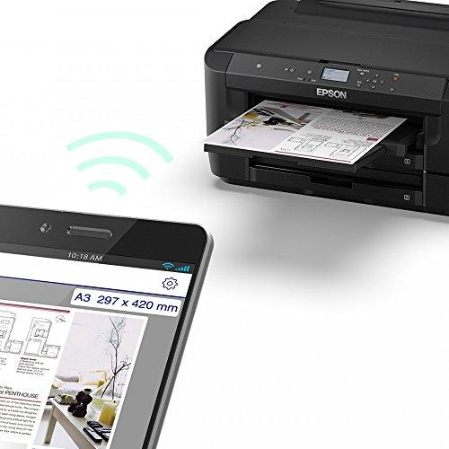 Epson Workforce wf-7210A3Drucker + Multipack Tinte Bundle WF-7210