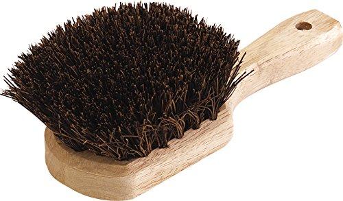 Carlisle 4546300 Utility Palmyra Deck Scrub Brush, 8-1/2' x 4', Natural