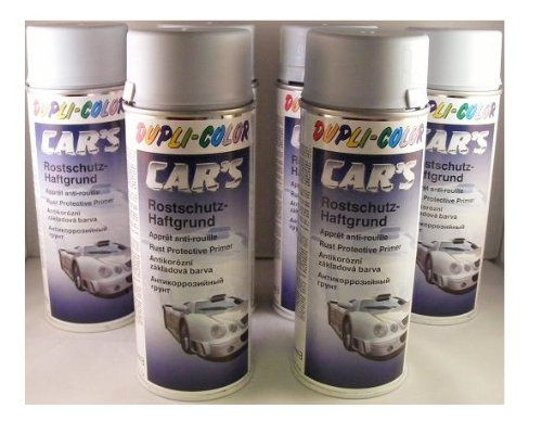 Dupli Color 385889 auto hechting primer grijs, 6 spuitbussen à 400 ml