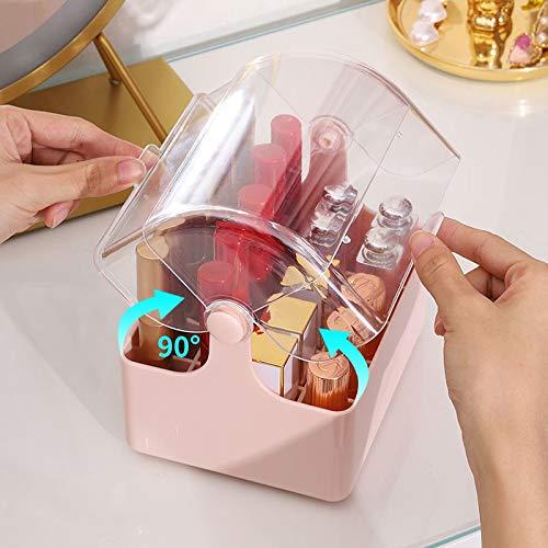 Acryl Lippenstift Aufbewahrungsbox Lippenstifthalter Makeup Organizer Lipgloss Parfüm Display Stand Transparente Plastikbox mit Deckel