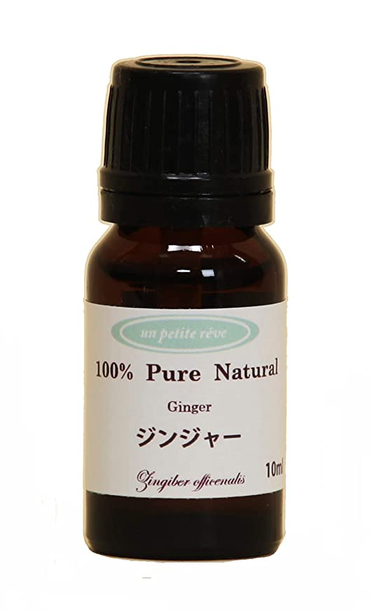 邪魔ベジタリアンパプアニューギニアジンジャー  10ml 100%天然アロマエッセンシャルオイル(精油)
