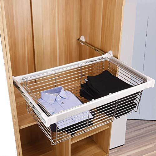 Armario Pull out Basket, deslizable gaveta de Almacenamiento, Cromo de la Capa...