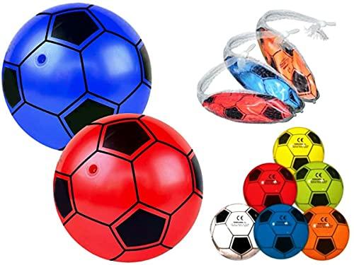 Lote de 20 Balones Hinchables Surtidos. Ø 23 cm. Juguetes y Regalos Baratos para Fiestas de Cumpleaños, Bodas, Bautizos, Comuniones y Eventos.