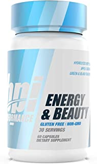 BPI Sports Bpi Performance Energy & Beauty – Focus, Motivation, Weight Loss, Detox – Biotin, Collagen, Apple Cider Vinegar...