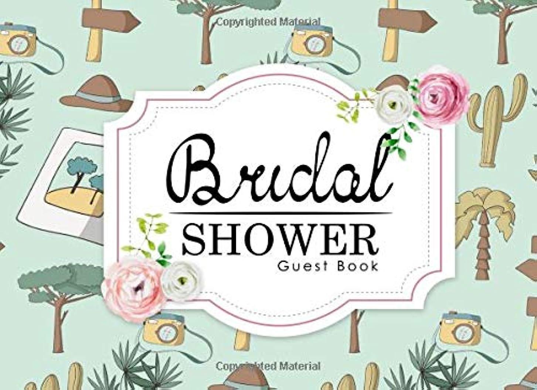 欠如理解するペダルBridal Shower Guest Book