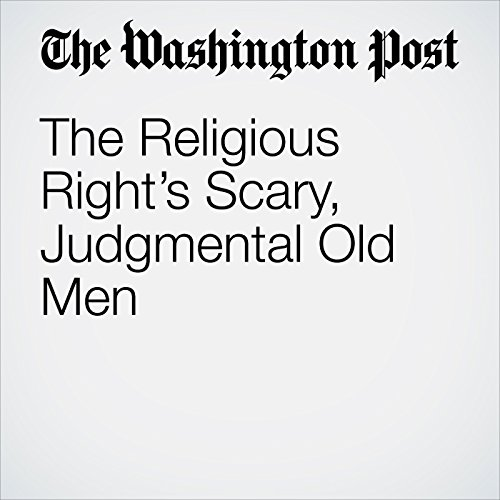 The Religious Right's Scary, Judgmental Old Men copertina