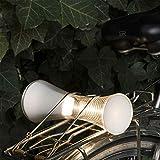 Artemide Come Together Lampe de Table LED en technopolymère et Verre Acrylique Cuivre