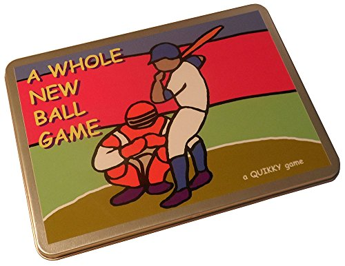 BASEBALL – A Whole New Ball Game! The QUIKKY Baseball game in a portable hinged tin