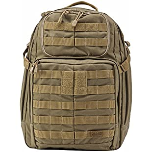 5.11 Tactical Water Repellent Rush  Outdoor Trekking Backpack available in Brown - 37 Litres