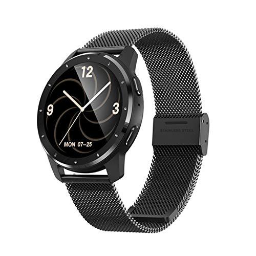 FZXL MX11 Relojes para Mujer 2021 Monitor De Ritmo Cardíaco MP3 Bluetooth Música IP68 Impermeable Fitness Deportes Smart Pulsera Miendo Hombres,B