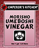 EMPEROR'S KITCHEN Traditional Umeboshi Vinegar, 1 Gallon Plastic Jug