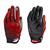 SPARCO S002093RS3L Gants Meca 3 TG. L Red, Rouge, L
