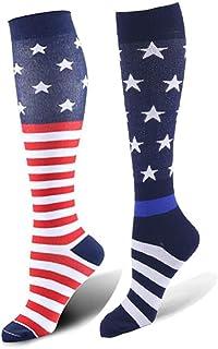Compression Socks Women and Men(2-3 Pack)15-20mmHg, Best for Nurses, Travel, Running, Fitness
