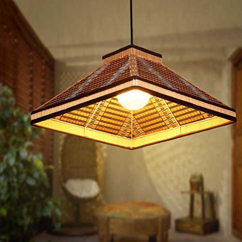Kronleuchter einfache pastorale Kronleuchter Bambus Stricknadeln helle und moderne Beleuchtung kreative Garten Beleuchtung