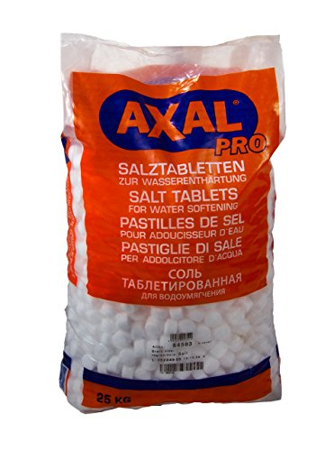 Regenereerzout in tabletvorm, 25 kg, voor waterontharding.