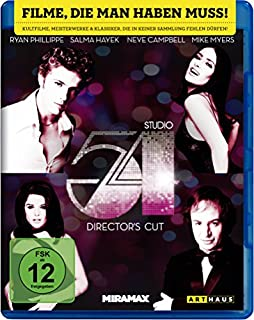Studio 54 [Blu-ray] [Director's Cut] (B0172MRS3U) | Amazon price tracker / tracking, Amazon price history charts, Amazon price watches, Amazon price drop alerts