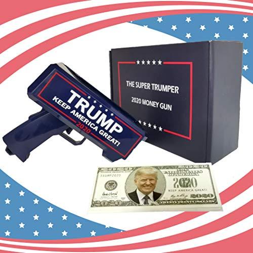 NINOSTAR Money Gun Gadget with 100 Bills 2020 Version