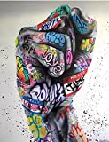 Farbe Faust Graffiti Kunst Poster und Drucke Abstrakte